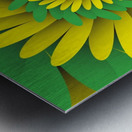 Digital Forest Metal print