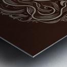 Lunar New Year Sepia Metal print