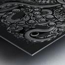 Nova Greyscale Metal print