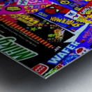 candy wrapper madness Metal print