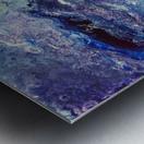 Color game Metal print