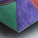 Abstraction flight Metal print