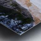 Yellowstone Lower Terrace Metal print