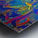 Succulent Jamboree Metal print