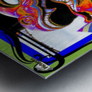Carnival Creature in Bright Colors Metal print