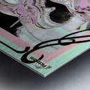 Carnival Creature in Pastels Metal print