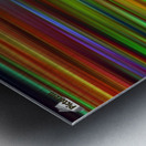 Colorful Lines Metal print