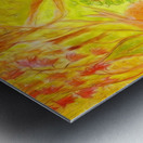 Could it be yellower  Metal print