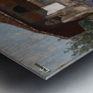 Damascus Metal print