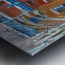 Le Plateau Red House Metal print
