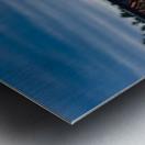 Lheure bleue Metal print