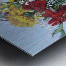 Flowers in a Mason Jar Metal print