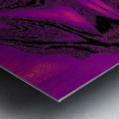Purple Desert Song 7 Metal print