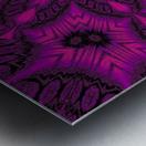 Purple Desert Song 41 Metal print