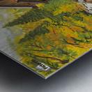 Crystal Hideaway Metal print