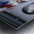 Beautiful Scientist Metal print
