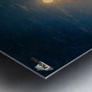 Night at the sea Metal print