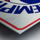 1971_American Basketball Association_Memphis Pros_Row One Brand Metal print