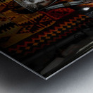The Empress Metal print