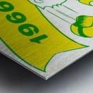 1966 Oregon Duck Season Ticket Metal print