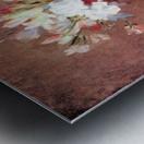 Flowers in a Vase by Jean Chardin Metal print