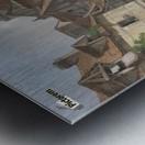 View of Rouen Metal print