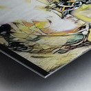 Mosaic Labyrinth Metal print