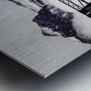The Engine Bridge Canmore Metal print