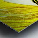 yellowgirl1 Metal print