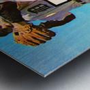 retro remix detroit tigers poster Metal print