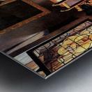 Glass of wine by Vermeer Metal print