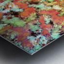 Cascading time Metal print