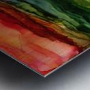 Kaleidoscope Canyon Metal print