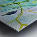 Realm of Greenery Foliage Metal print
