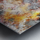 Stumbling through the storm Metal print