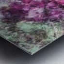 The quiet purple clouds Metal print