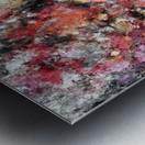 Thermal fractures Metal print
