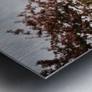 Chemin fleuri Impression metal