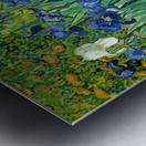 Irises by Van Gogh Metal print
