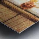 July by Tissot Metal print