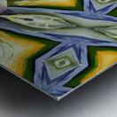 Artdeco structural c Metal print