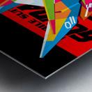 Wings Gundam Zero Pop Art Metal print