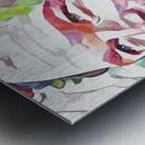 Chris Pratt - Celebrity Abstract Art Impression metal