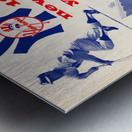 1964 new york yankees american league champions poster Metal print