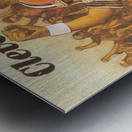 vintage cleveland browns nfl art poster Metal print