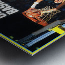 1986 ucla basketball reggie miller poster Metal print