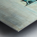 Uptown V Metal print