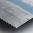 The Staredown Metal print
