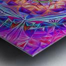Sacred Geometry Mandala Handdrawing Metal print