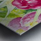 Summer Flavor: Raspberry I Metal print